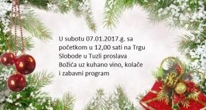 Obilježavanje pravoslavnog Božića u Tuzli