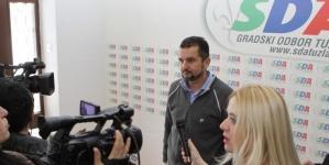 Prijem u GO SDA Tuzla za predstavnike medija
