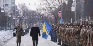 Banja Luka: Treći pješadijski puk OSBiH se postrojio,i povukao nakon predaje raporta Ivaniću