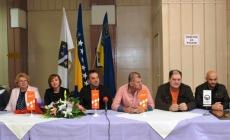 Koordinacija boračkih udruženja Grada Tuzla obilježila Dan nezavisnosti BiH