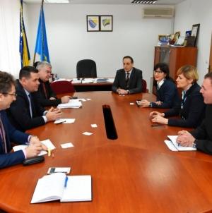 Delegacija NLB banke posjetila Vladu TK