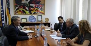 Upriličen sastanak sa delegacijom misije OSCE-a u BiH