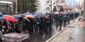 """Protesti u Zvorniku: Više od 3.000 radnika """"Alumine"""", """"Boksita"""" i rudnika """"Srebrenica"""""""