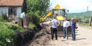 Gradonačelnik Tuzle obišao lokacije gdje su u toku radovi na sanaciji lokalne infrastrukture