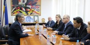 Susret gradonačelnika Tuzle i Šefa Misije OSCE-a u BiH