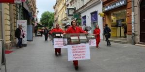 Protesti pred Parlamentom BiH: Protiv zakona o uzgoja životinja radi krzna