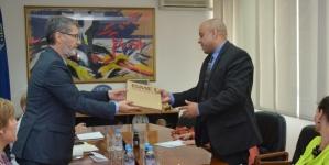 Gradonačelnik Tuzle i Ambasador Republike Češke u BiH razgovarali o mogućnostima unapređenja saradnje Tuzle i Vlade i gradova Republike Češke