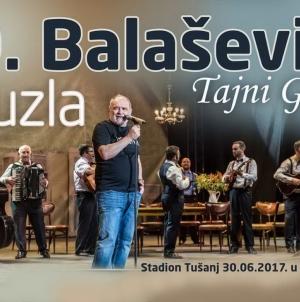 "Koncert ""Tajni Gaz"" Đorđa Balaševića na stadionu u Tuzli"