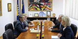 Susret gradonačelnika Tuzle i ambasadora Kraljevine Švedske u Bosni i Hercegovini