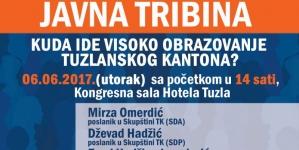 "CCI: Javna tribina ""Kuda ide visoko obrazovanje Tuzlanskog kantona"""