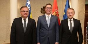 Beograd: Bh. delegacija na Vučićevoj inauguraciji