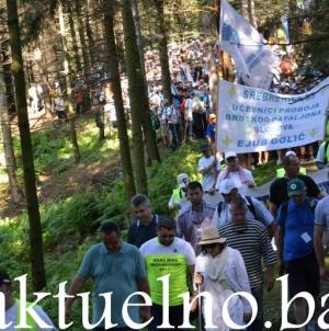 Marša mira:Danas posljednja etapa, 5.000 učesnika stiže u Potočare