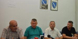Press konferencija Koordinacije boračkih Saveza TK: Otvoreno pismo Miloradu Dodiku i svim domaćim i inostranim institucijama