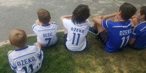 Inzko i Džeko u Bostonu: Dirljivo vidjeti djecu u dresu s Džekinim imenom