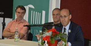 Ramiz Salkić  potpredsjednik bh. entiteta RS održao političku tribinu u Linzu