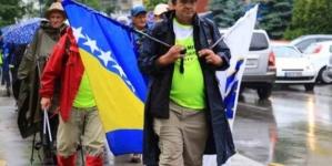 """""""Marš mira Sarajevo-Nezuk-Srebrenica"""": Oko 70 građana danas krenulo iz Sarajeva"""
