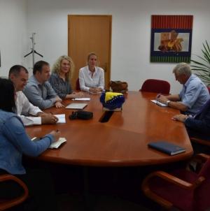 Premijer Bego Gutić upriličio sastanak predstavnicima NATO-a i Ministarstva sigurnosti BiH