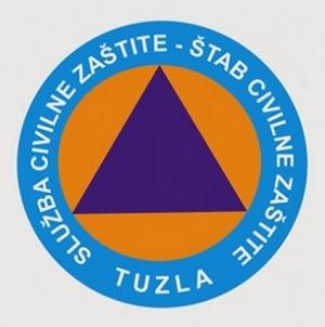 Upozorenje Civilne zaštite Grada Tuzle na pripravnost