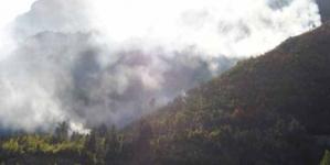 Jablanica: Kiša pomogla stabilizovanje požarišta