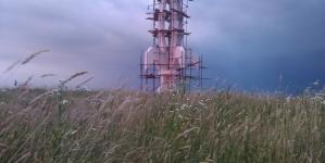 Gradačac:  Ljiljan visok 16 metara izgrađen u čast svim borcima Armije RBiH