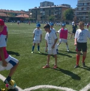 "Open Fun Football Schools na pomoćnim terenima stadiona ""Tušanj"""