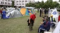Demobilizirani borci ispred Vlade FBiH počinju štrajk glađu