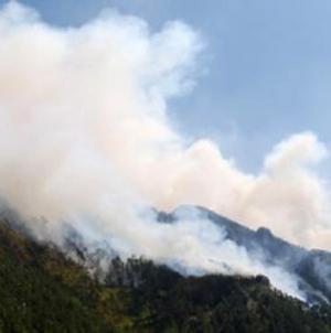 Na Ruištu i dalje gori, očekuje se helikopter OS BiH