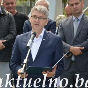 Salko Bukvarević u Potočarima: Svaka stopa ove naše zemlje natopljena je šehidskom krvlju i ona pripada svakom njenom građaninu