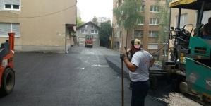 Radovi na sanaciji i asfaltiranju ulice Dragiše Trifkovića u Tuzli