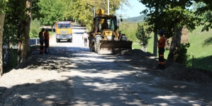 Radovi na rekonstrukciji i sanaciji ceste Mramor jug – Centar