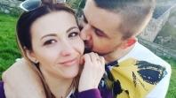 Bh. pjevač Amel Ćurić oženio svoju dugogodišnu djevojku Jelenu