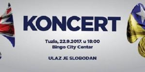 Koncert orkestara Kraljevskih zračnih snaga V.Britanije i Oružanih snaga BiH