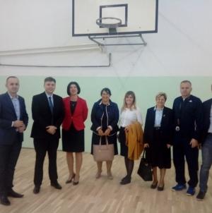 Posjeta osnovnim i srednjim školama općina Banovići i Kalesije