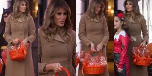 Melania Trump osvaja elegancijom u jesenskom stajlingu