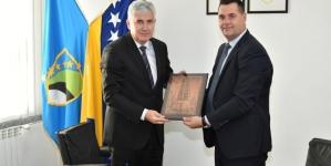 Predsjedavajući predsjedništva BiH Dragan Čović posjetio Tuzlanski kanton