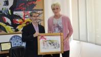 Gradonačelnik Tuzle upriličio prijem za Raziju Mujanović novu članicu Kuće slavnih