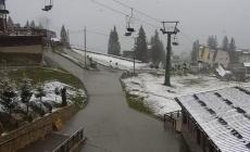 Na Vlašiću pao snijeg, temperatura jedan stepen