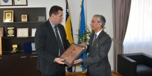 Ambasador Indije posjetio Tuzlanski kanton