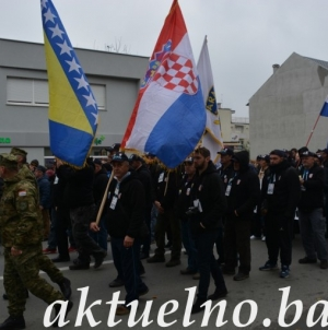Iz Memorijalnog centra Srebrenica – Potočari krenuo treći po redu Marš mira Srebrenica – Vukovar