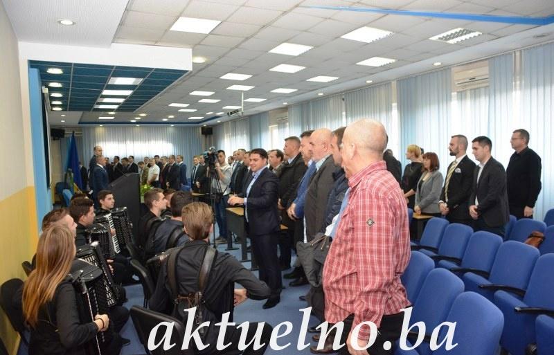 Održana svečana sjednica Skupštine Tuzlanskog kantona u povodu Dana državnosti BiH