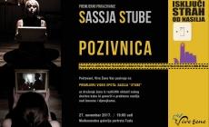 """U ponedjeljak promocija video spota i pjesme """"Stube"""" mlade hip-hop pjevačice Sassje"""