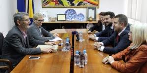 Upriličen susret gradonačelnika Tuzle i Sarajeva