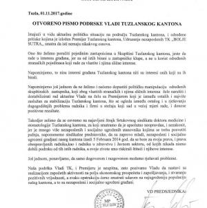 """Podršku Kantonalnoj vladi izrazilo Udruženje nezaposlenih TK """"Bolje sutra"""""""
