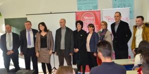 Visoka škola FINra Tuzla, Disti Sarajevo i Spin Tuzla donirali  računarsku opremu za pet škola u TK