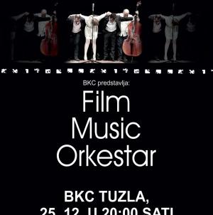 Najljepše melodije sa filmskog platna u BKC TK Tuzla