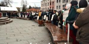 Miting podrške palestinskom narodu na Trgu slobode u Tuzli