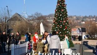 Proslava Dječije Nove godine na Trgu slobode
