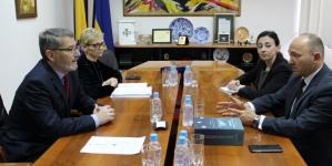 Susret gradonačelnika Tuzle i ambasadora Republike Austrije u BiH