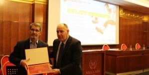 Naučno-nastavno vijeće Fakulteta za tjelesni odgoj i sport dodijelilo Priznanje gradonačelniku Grada Tuzla