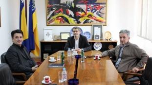 Gradonačelnik Tuzle održao sastanak sa predstavnicima BZK Preporod BiH